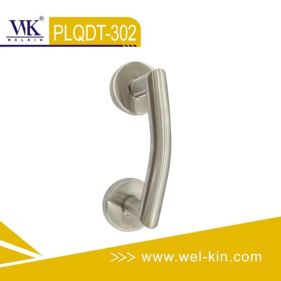 Stainless Steel Door Handle Hardware (PLQDT-302)