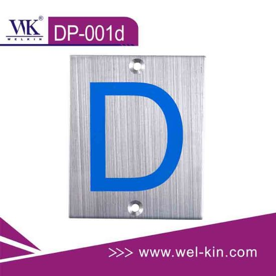 Quality Sign Plate Hardware (Dp-001d)