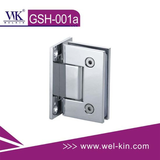 Stainless Steel 304 Brush 5mm 90 Degree Glass Hinge (GSH-001A)