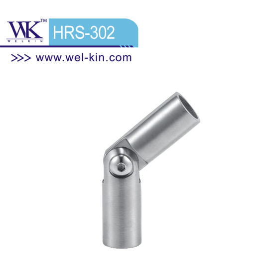 Ss316 Movable Connector Handrail Fittings (HRS-302)