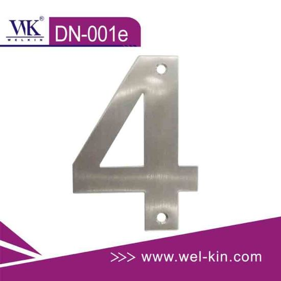 Stainless Steel Door Number (DN-001e)