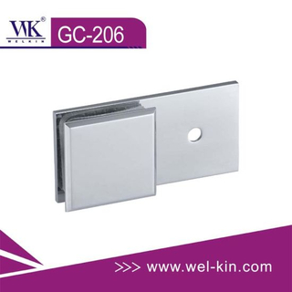 180 Degree Wall To Glass Clips (GC-206)