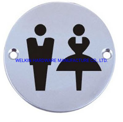Stainless Steel Sign Plate (DP-003A)