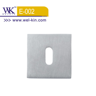Stainless Steel Square Door Rosette (E-002)