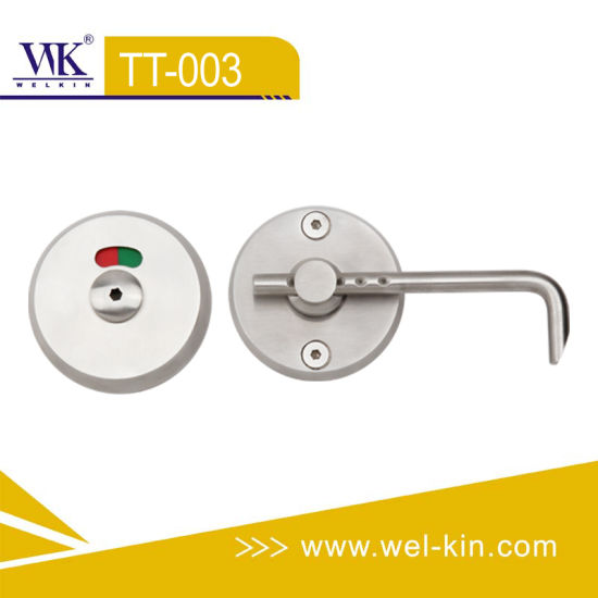Inox Quality Thumb Indicator Lock for Toilet Partition (TT-003)